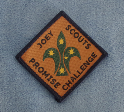 Joey Promise Scout Badge