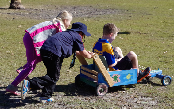 Gosford District Cub Billy Cart Derby – 2 November 2014