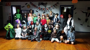 Cubs Halloween Group Shot 2015