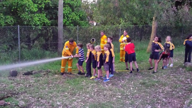 Pearl Beach Rural Fire Service Visit Cubs