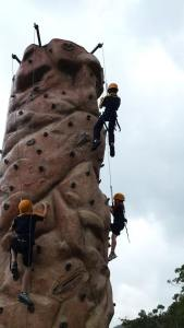 Founder'sDay Climbing Wall Fun