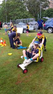Billy Cart Fun at Founder's Day