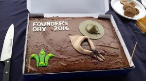 Founder's Day Cake