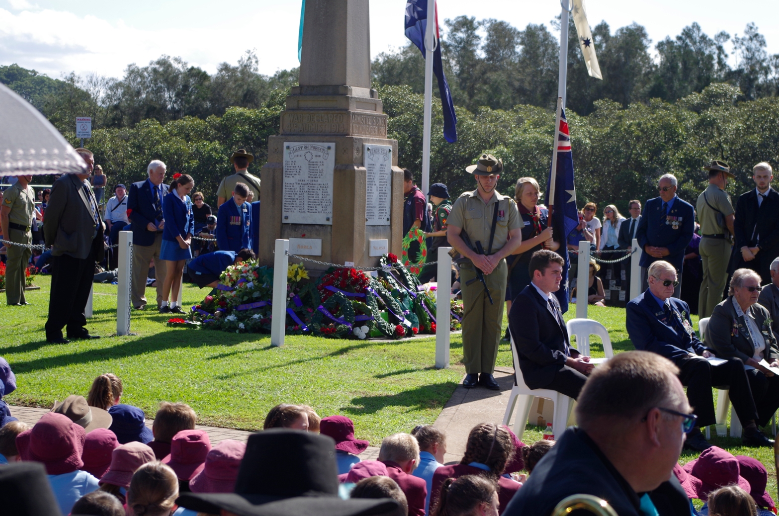BBSG ANZAC March 1