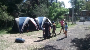 Pitched Tents