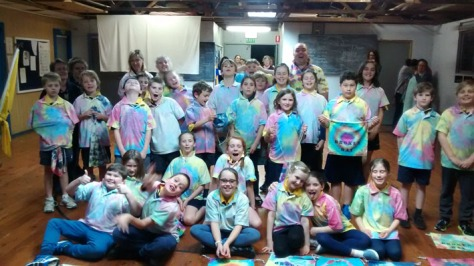 Cubs Tie Dyed Shirts Group Shot