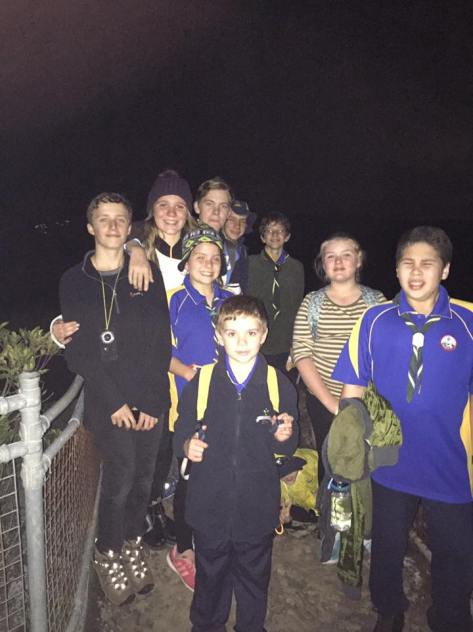 Scout Night Hike Patonga to Pearl Beach
