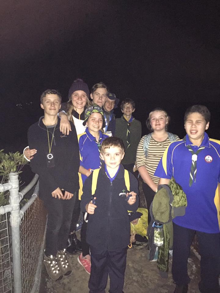 Scout Night Hike Patonga to Pearl Beach