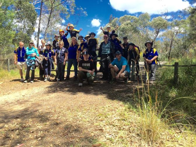 Kariong 'Glyphs' Walk and Scouts Own