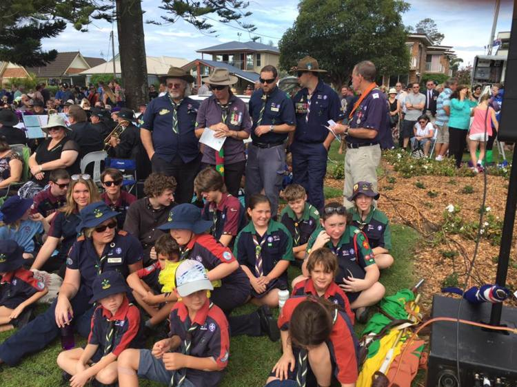 BBSG ANZAC Ceremony Woy Woy 2