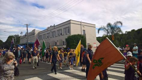 BBSG ANZAC Day March