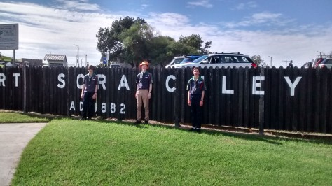 Fort Scratchley Scouts