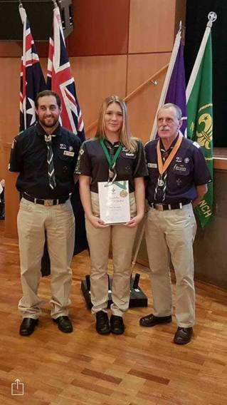 Greta Australian Scout Medallion Award