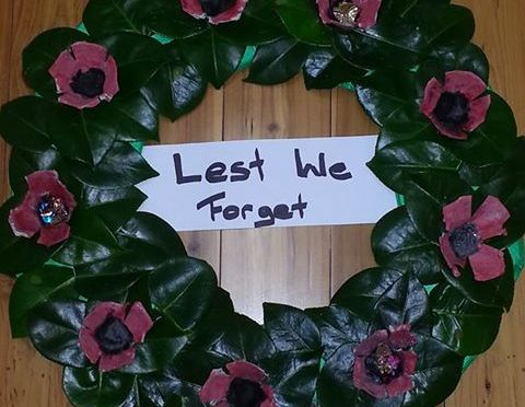 Joeys ANZAC Day Wreath