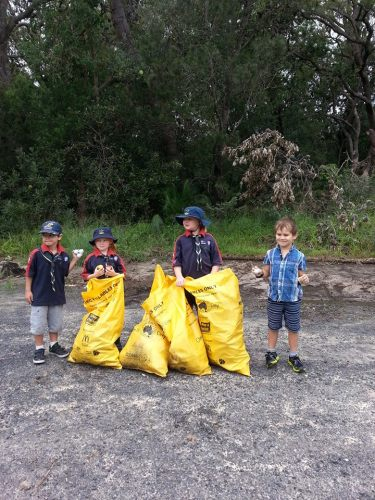 Joeys Clean Up Australia Day