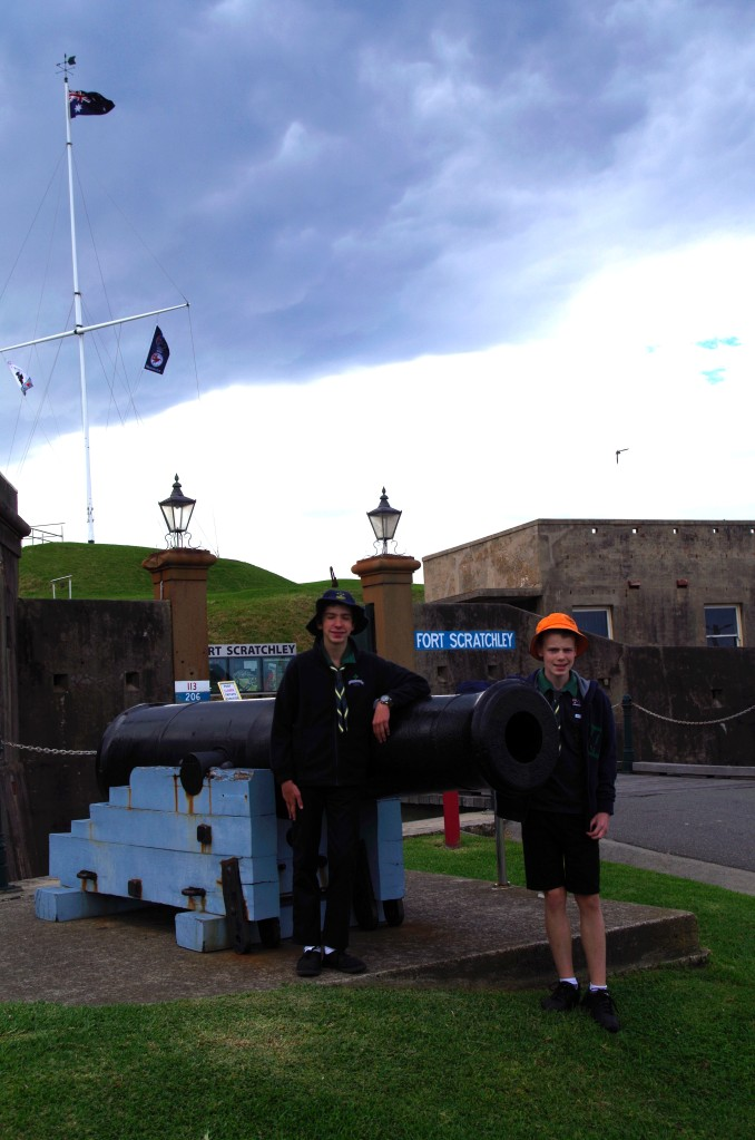 Outside Fort Scratchley Newcastle1