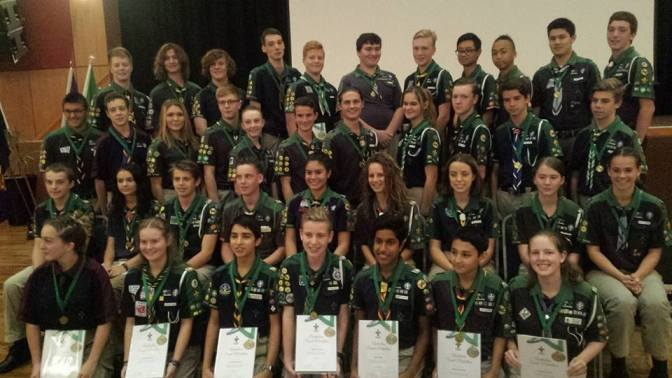 Australian Scout Medallion (ASM) for Greta