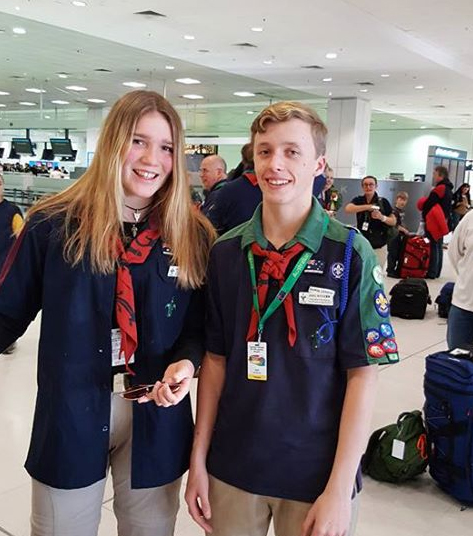Greta and Joel off to Mongolia!
